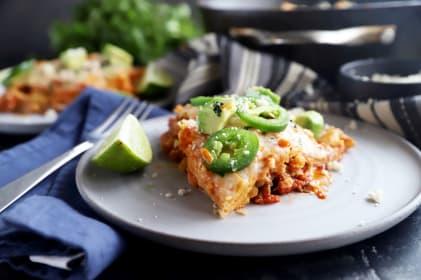 Short Rib Mexican Skillet Pie Recipe