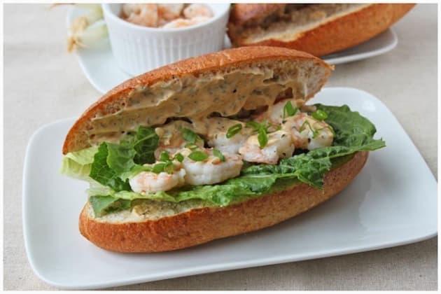 Shrimp Po Boy Picture