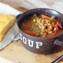 Slow Cooker Ham Soup Recipe