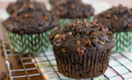 Double Chocolate Zucchini Muffins Recipe