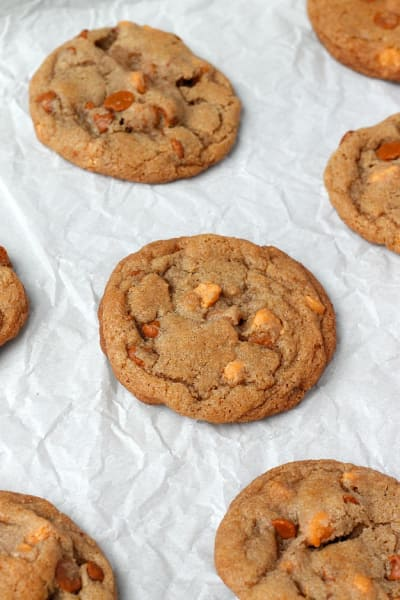 Brown Butter Cinnamon Butterscotch Cookies Picture
