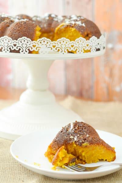 Gluten Free Pumpkin Pie Cake Picture