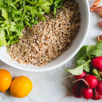 Farro Arugula Salad Recipe