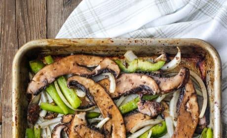 Portobello Mushroom Sandwich Pic