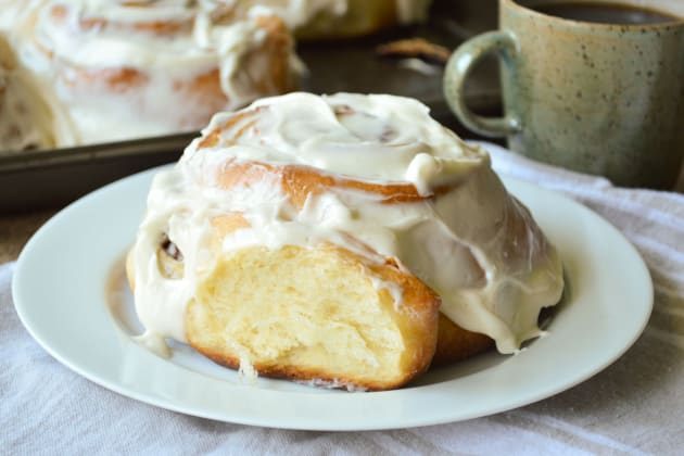 Giant Cinnamon Rolls Photo