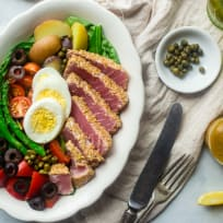 Asian Nicoise Salad Recipe
