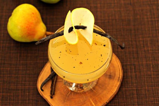 Pear Vanilla Martini Image