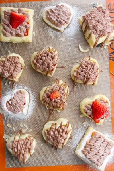 Chocolate Covered Strawberry Tarts Image