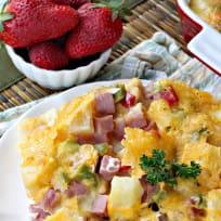 Hawaiian Breakfast Casserole