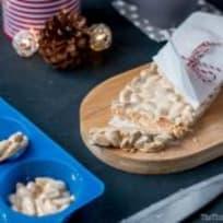 Turron de Alicante Recipe (Spanish Hard Almond nougat)