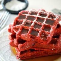 Red Velvet Waffles Recipe