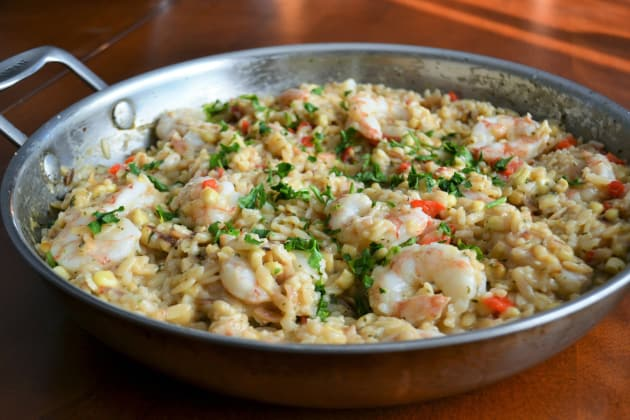 Shrimp Orzo Risotto Picture