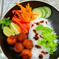 Meatless Vermicelli Bowl