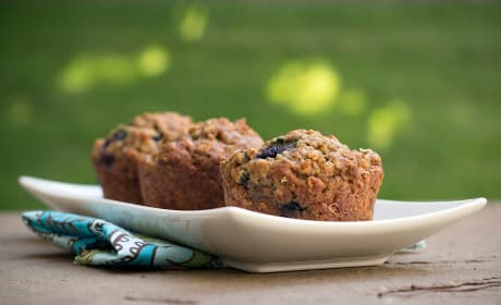 Blueberry Flax Muffins Photo