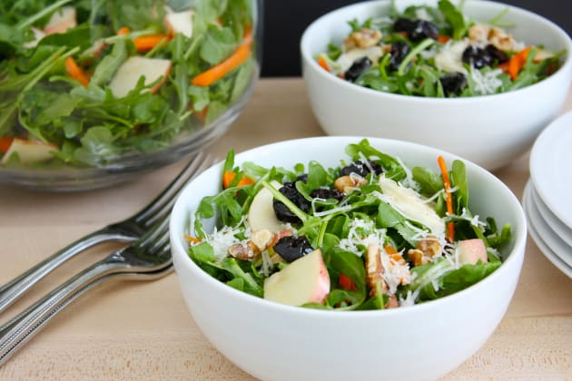 Fall Arugula and Apple Salad Photo
