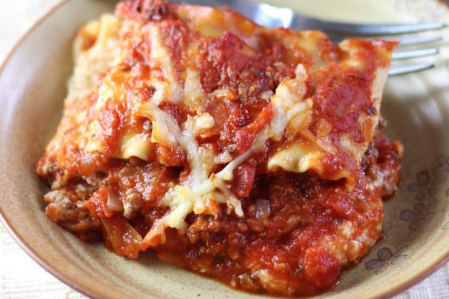 Ina Garten Lasagna Photo