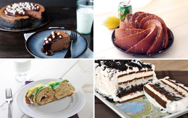 Hot chocolate cheesecake photo