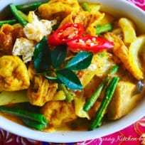 Homestyle Vegetarian Curry 家乡咖喱菜