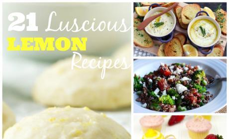 21 Luscious Lemon Recipes