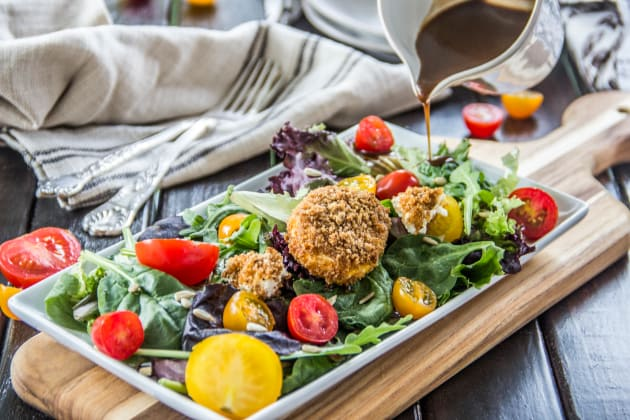 Tomato Goat Cheese Salad Image