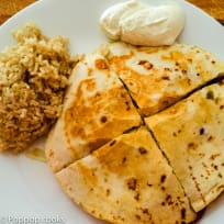 Chicken Quesadillas - Poppop Cooks