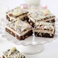 Peppermint Bark Brownies Recipe