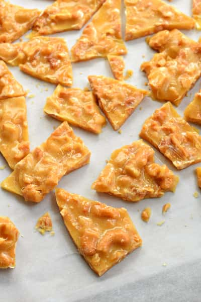 Cashew Brittle Picture