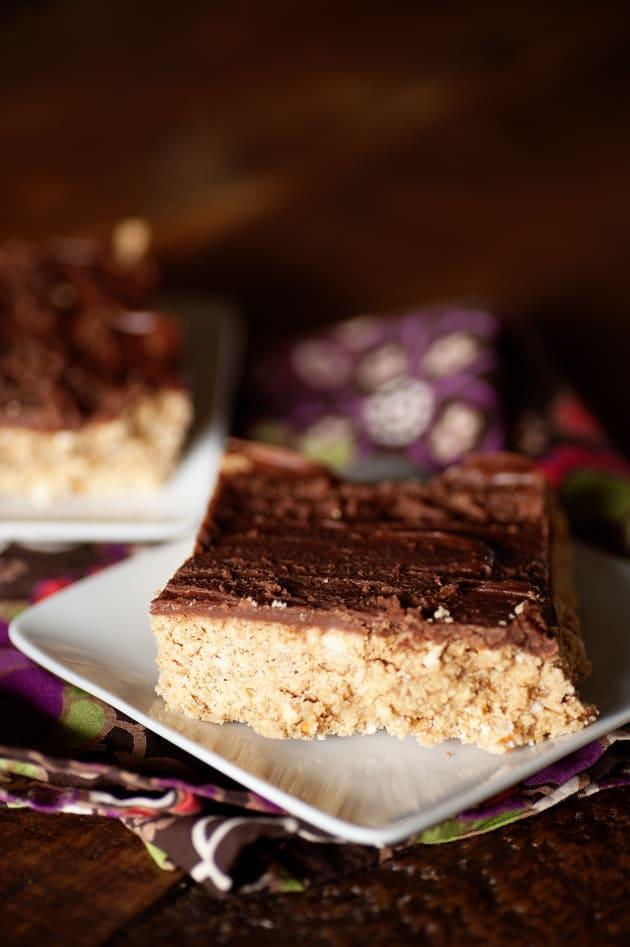 Chocolate Peanut Butter Pretzel Bars Picture