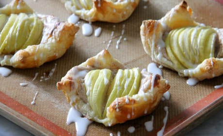 Apple Cinnamon Danish Pastry Photo