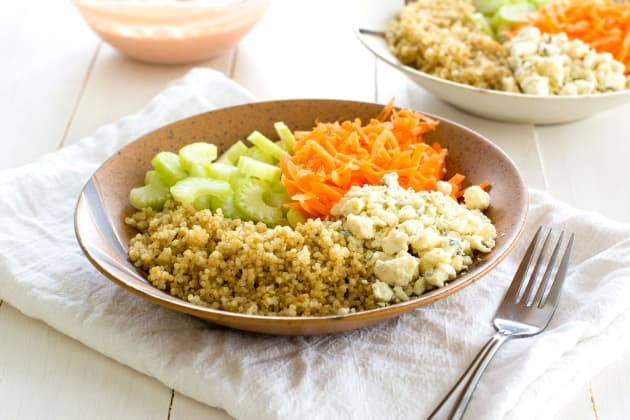Buffalo Chicken Quinoa Salad Photo