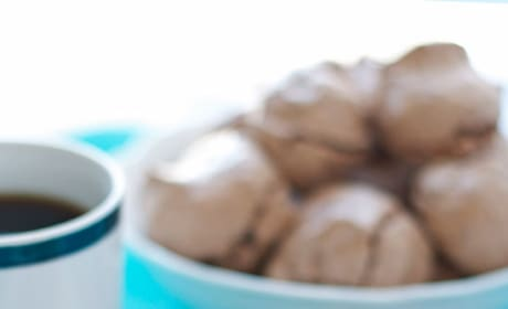 Hazelnut Mocha Meringue Cookies Picture