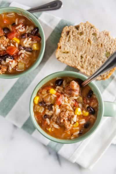 Southwest Chorizo Soup Image
