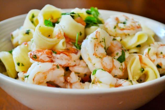 Shrimp Scampi Tortellini Picture