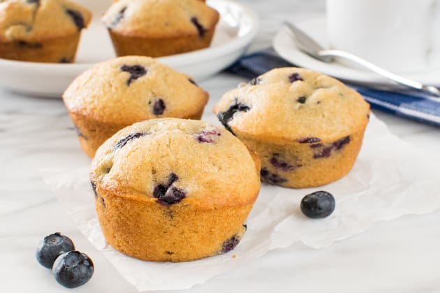Blueberry Chai Muffins Photo