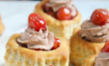 Black Forest Pastry Cups Image