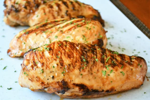 Grill Pan Chicken Breasts Photo