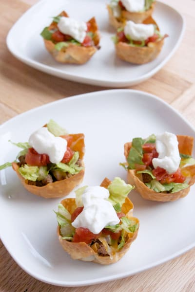 Taco Salad Cups Picture