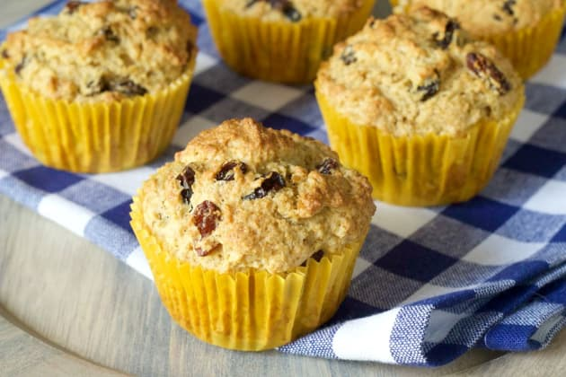 Rum Raisin Muffins Photo