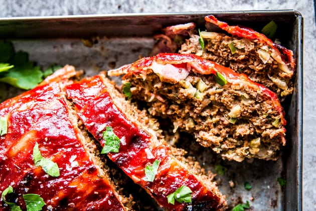 Bacon Wrapped Meatloaf Photo