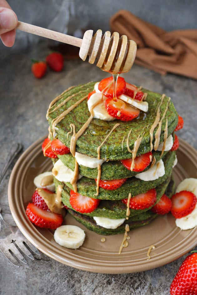 Green Smoothie Pancakes Picture
