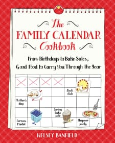 Cold Brewed Iced Tea & The Family Calendar Cookbook