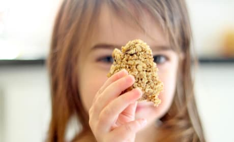 Homemade Chewy Granola Bars Image