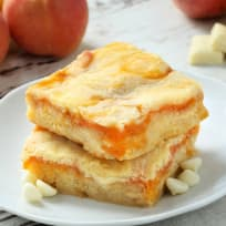 Gluten Free Apricot White Chocolate Blondies Recipe