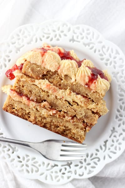 Peanut Butter & Jelly Torte Image