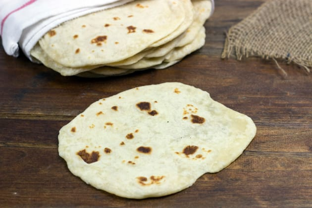 Homemade Tortillas Photo