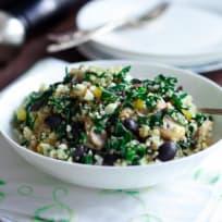Kalamata Collard Quinoa Salad Recipe
