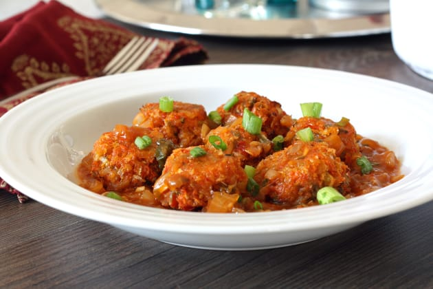 Baked Vegetable Manchurian Picture