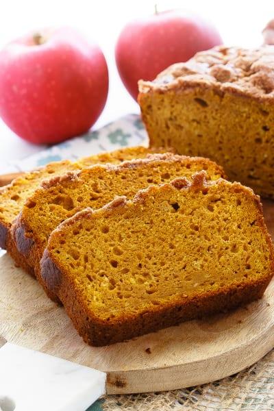 Apple Pumpkin Bread Picture