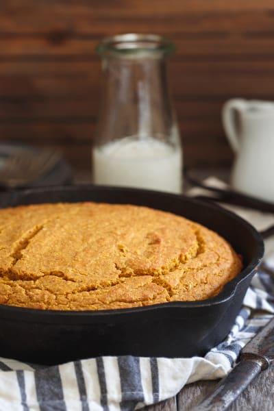 Vanilla Pumpkin Skillet Cornbread Image