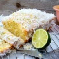 Coconut Lime Quick Bread